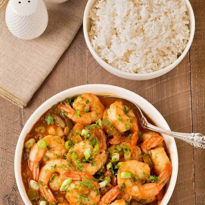 Louisiana Style Shrimp and Rice
