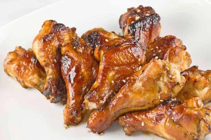Mahogany Chicken Wing Drummettes