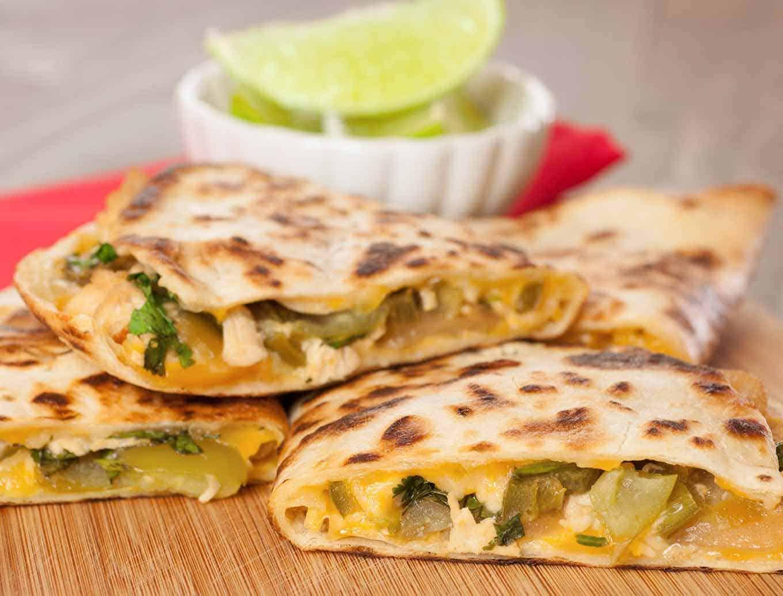 Margarita Chicken Quesadillas Recipe Mygourmetconnection