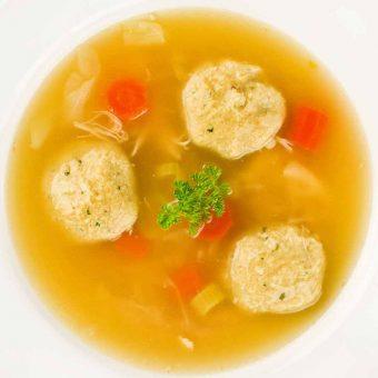 Matzo (Matzah) Ball Soup