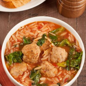 Meatball and Escarole Soup
