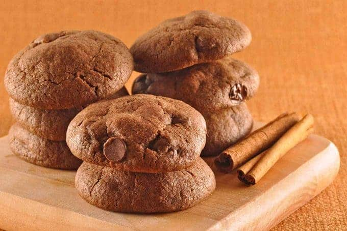 Mexican Spiced Chocolate Cookies