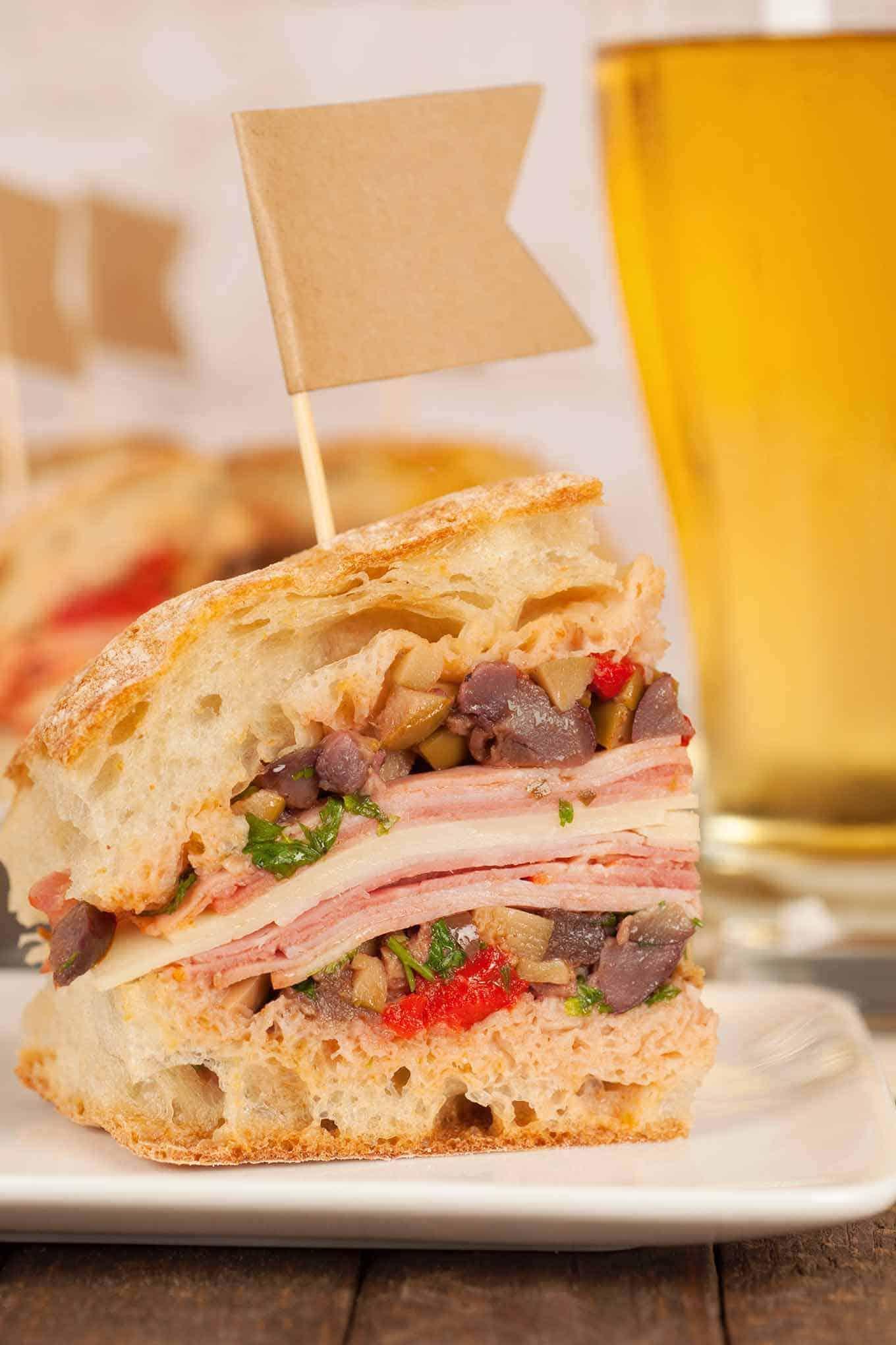 Muffaletta Sandwich Recipe