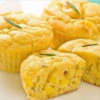 Mini Rosemary Corn Muffins
