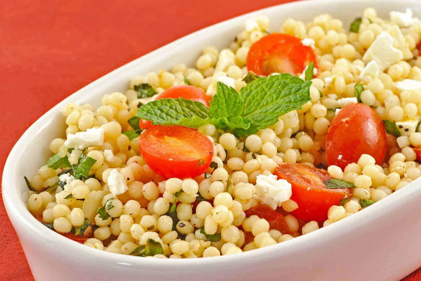 Coucous Salad Minted couscous salad with tomatoes and feta recipe minted couscous salad with tomatoes and feta recipe mygourmetconnection sisterspd