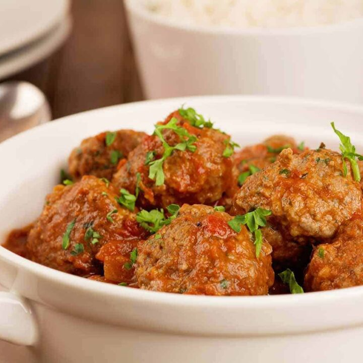 Moroccan Lamb Meatball Recipe
