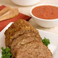 Moroccan Spiced Lamb Meatloaf