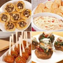 Appetizer Recipes for New Year's Eve