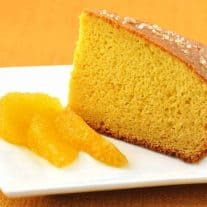 Orange-Glazed Olive Oil Cake with Fleur De Sel