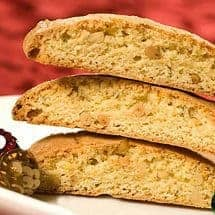 Orange Rosemary Biscotti