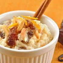 Orange-Scented Rice Pudding with Dates