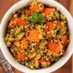 Orange-Spiced Carrots and Quinoa