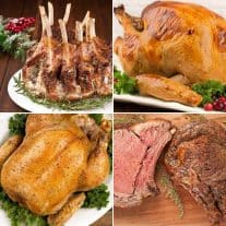 Our Favorite Christmas Entrees
