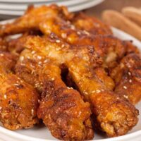 Oven-Fried Chicken Wing Drumettes