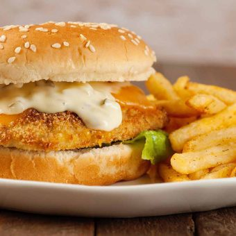 Oven-Fried Fish Sandwiches