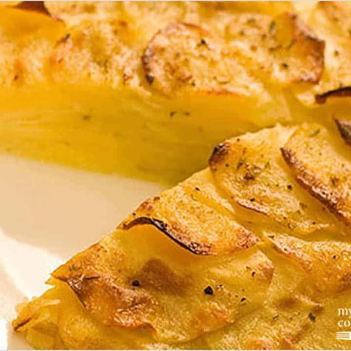 Oven-Roasted Potato Galette
