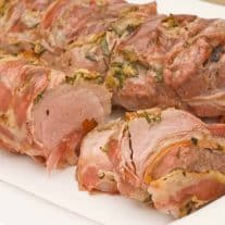 Pancetta-Wrapped Pork Tenderloin