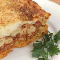 Pastitsio - Greek Meat and Pasta Pie