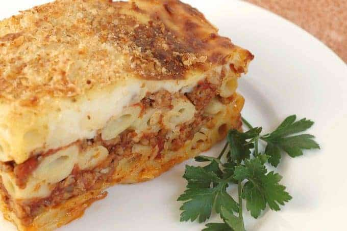 Pastitsio - Greek Meat and Pasta Pie
