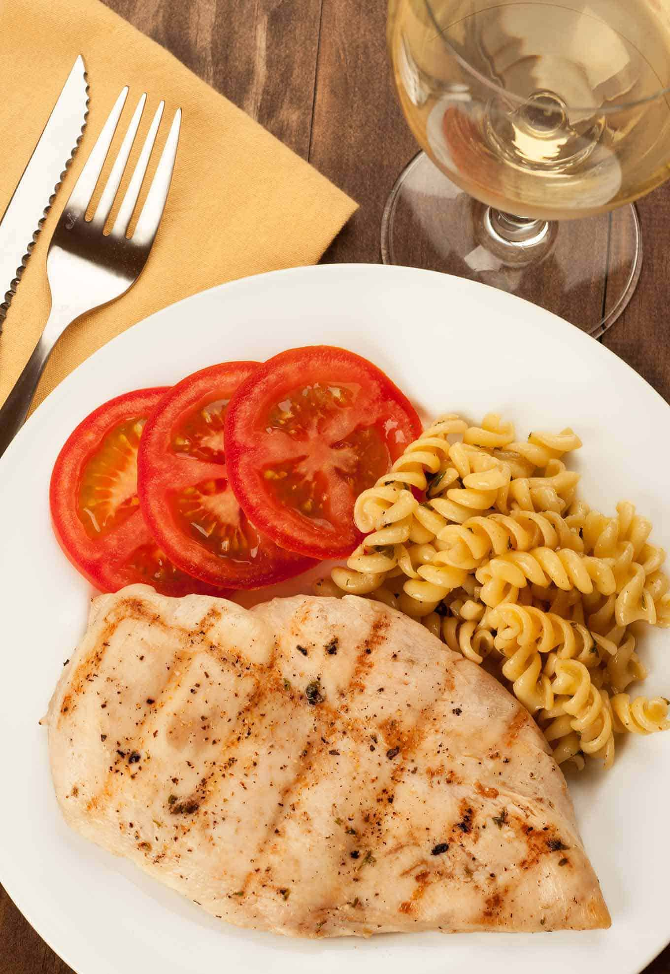 Perfect Grilled Chicken Breasts