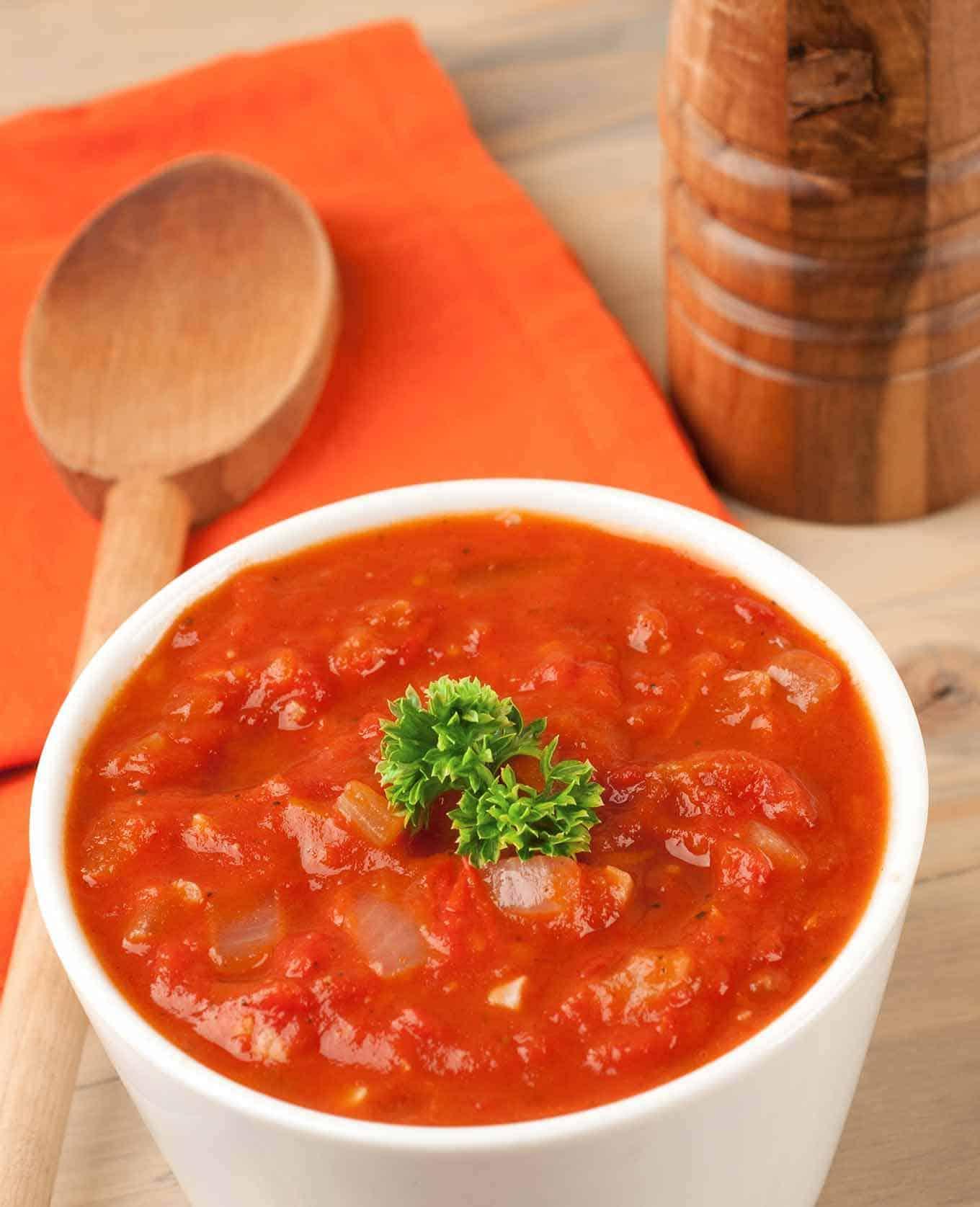 Piquant Tomato-Orange Sauce