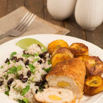 Plantain Stuffed Chicken Breasts