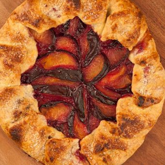 Easy Plum Galette Recipe