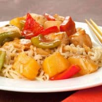 Polynesian Pineapple Chicken and Peppers