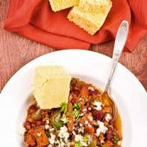 Pork Lover's Slow Cooker Chili