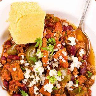 pork lovers slow cooker chili