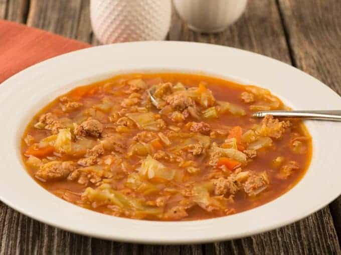 Instant Pot Cabbage Soup