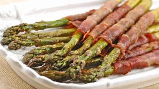 Prosciutto Wrapped Roasted Asparagus
