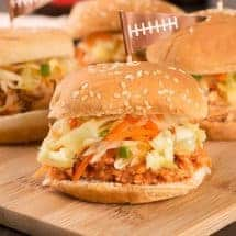 Pulled Chicken Sliders