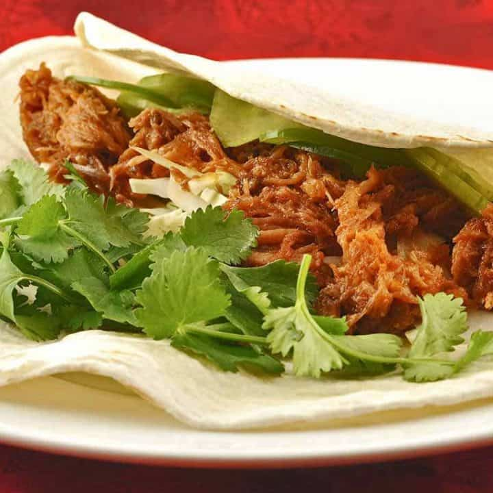 Pulled Pork Tacos with Korean Flavors