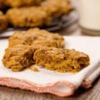 Pumpkin Oatmeal Cookie Recipe