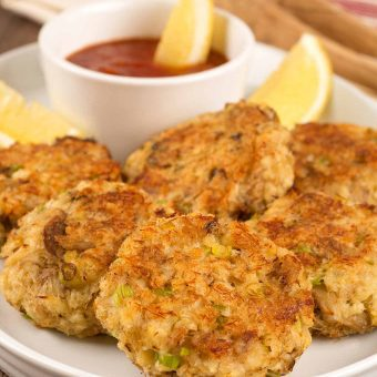 Quick Bake Crab Cakes