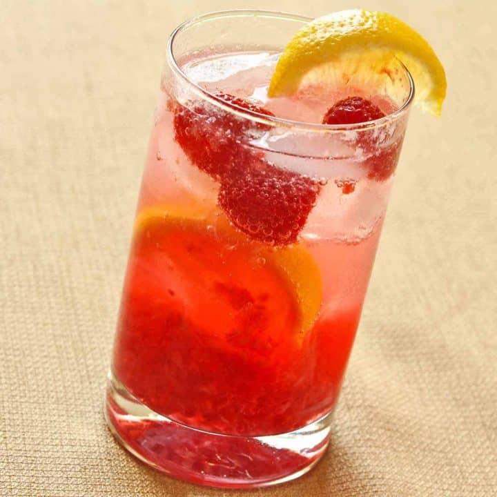 Raspberry Rose Cooler