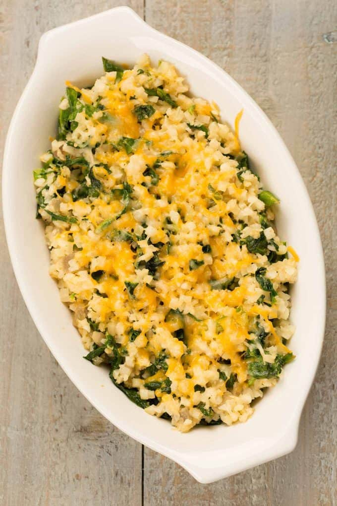how to make and cook riced cauliflower