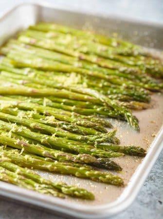 Roasted Asparagus with Lemon Butter