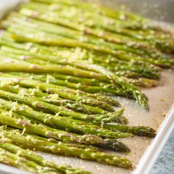 Roasted Asparagus with Lemon Butter