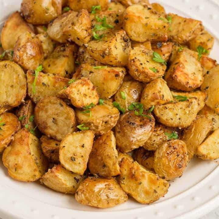 Roasted Potatoes Oreganata