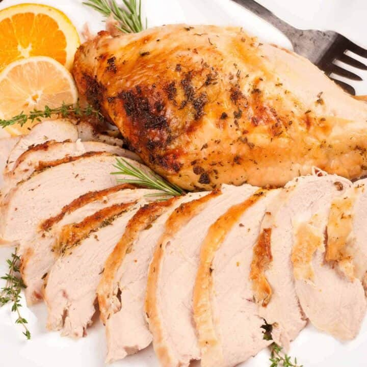 Roasted Turkey Breast with Citrus-Herb Butter