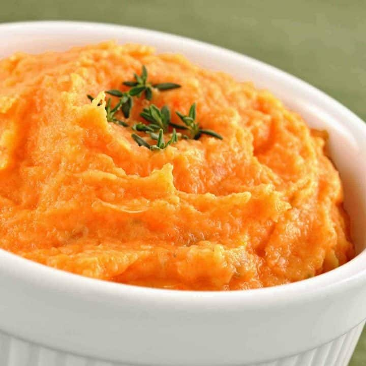 Root Vegetable Puree with Shallots and Thyme