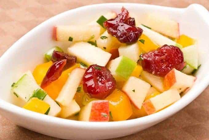Rosemary Apple Salsa