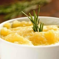 Rosemary Applesauce