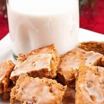 Rum Raisin Spice Bars