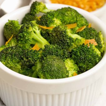 Sautéed Broccoli with Orange Peel