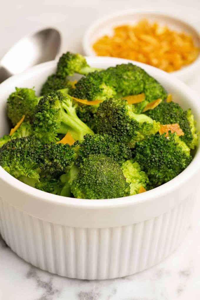 Sauteed Broccoli with Orange Peel