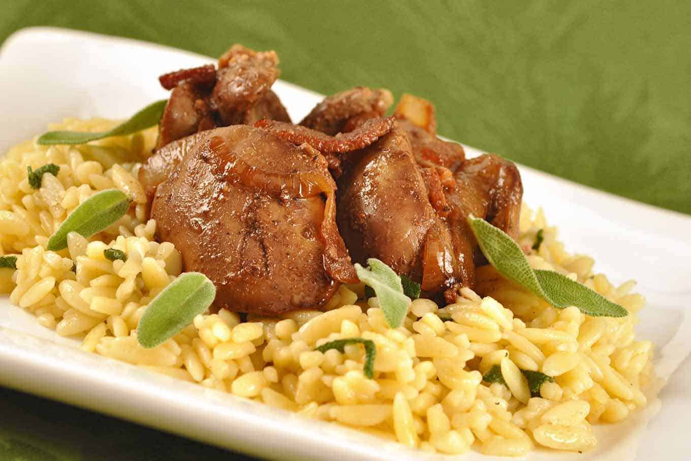 Indian Ethnic Home Decor Ideas Sauteed Chicken Livers With Onion Bacon And Sage Recipe