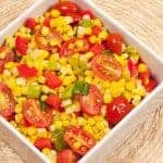 Sauteed Sweet Corn with Tomatoes and Tarragon